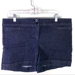 The Limited Denim Navy Blue Tailored Short